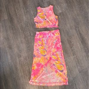 Lilly Pulitzer 2 piece set XL